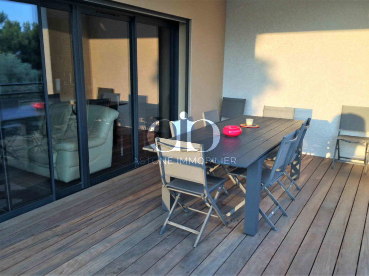 Maison Bandol terrasse